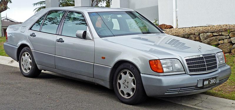 Mercedes W 140 der späteren Kohl-Ära (ab 1992) Quelle: Wikipedia