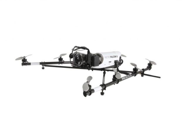 Mini-Hubschrauber - Verkehrsüberwachung per Fernsteuerung