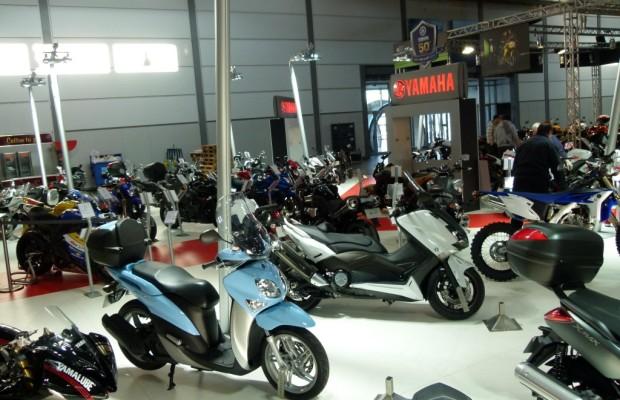 Motorrad Messe Leipzig 2012: Einstiegsroller bis Maxi-Scooter
