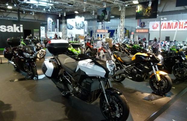 Motorrad Messe Leipzig 2012: Sportler und Scooter im Fokus