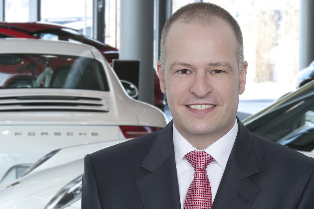 Neu leitet Porsche-Zentrum Leipzig