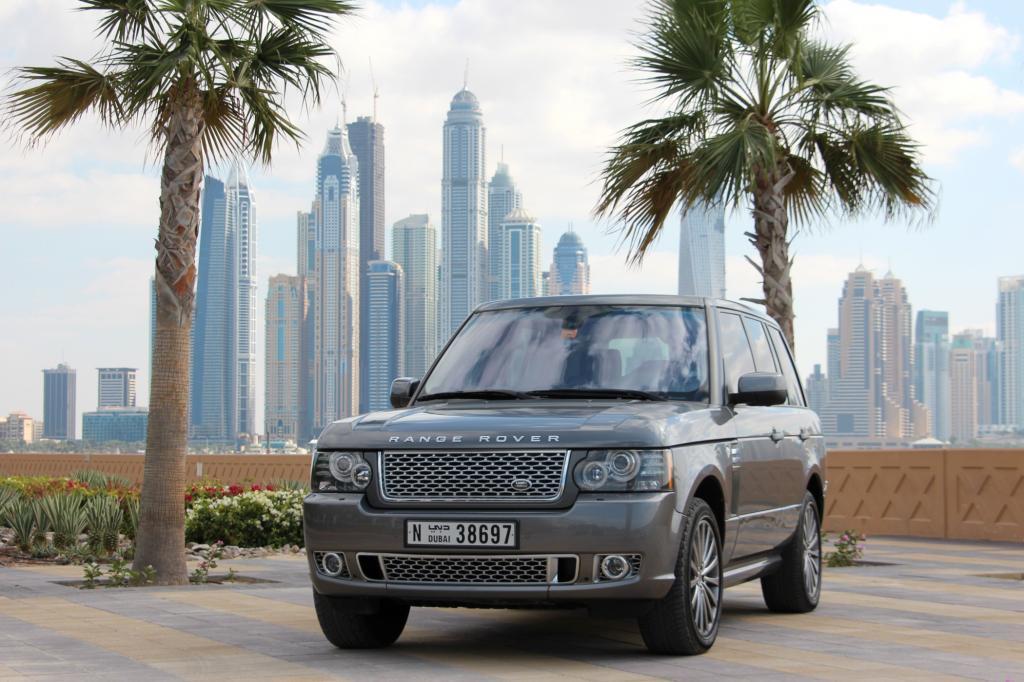 Nirgends sonst auf der Welt verkauft sich der Range Rover so gut wie in Dubai