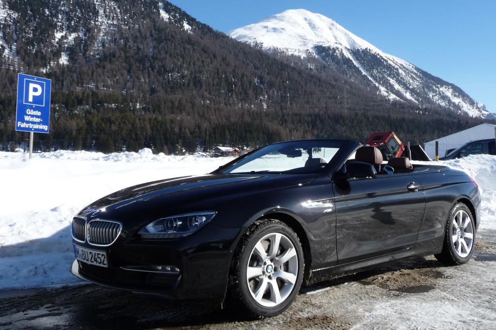 Panorama St. Moritz - Eiskaltes Autoparadies