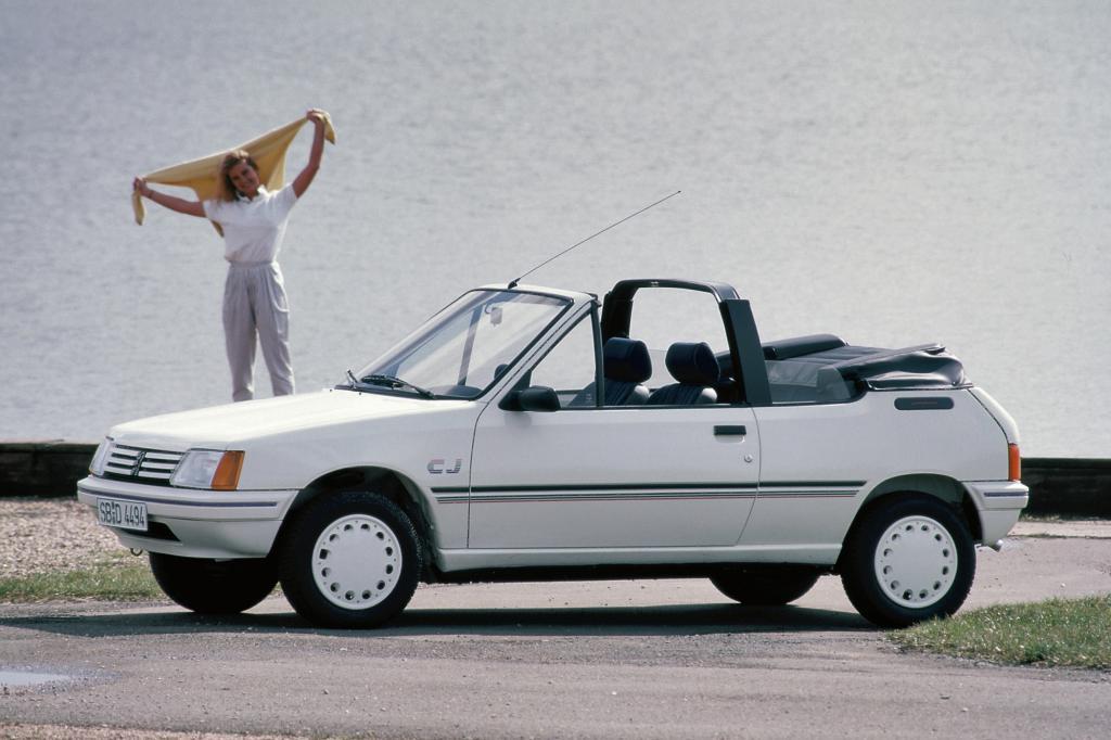 Peugeot 205 Cabriolet CJ ab 1988