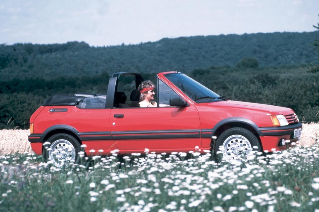 Peugeot 205 Cabriolet ab 1986