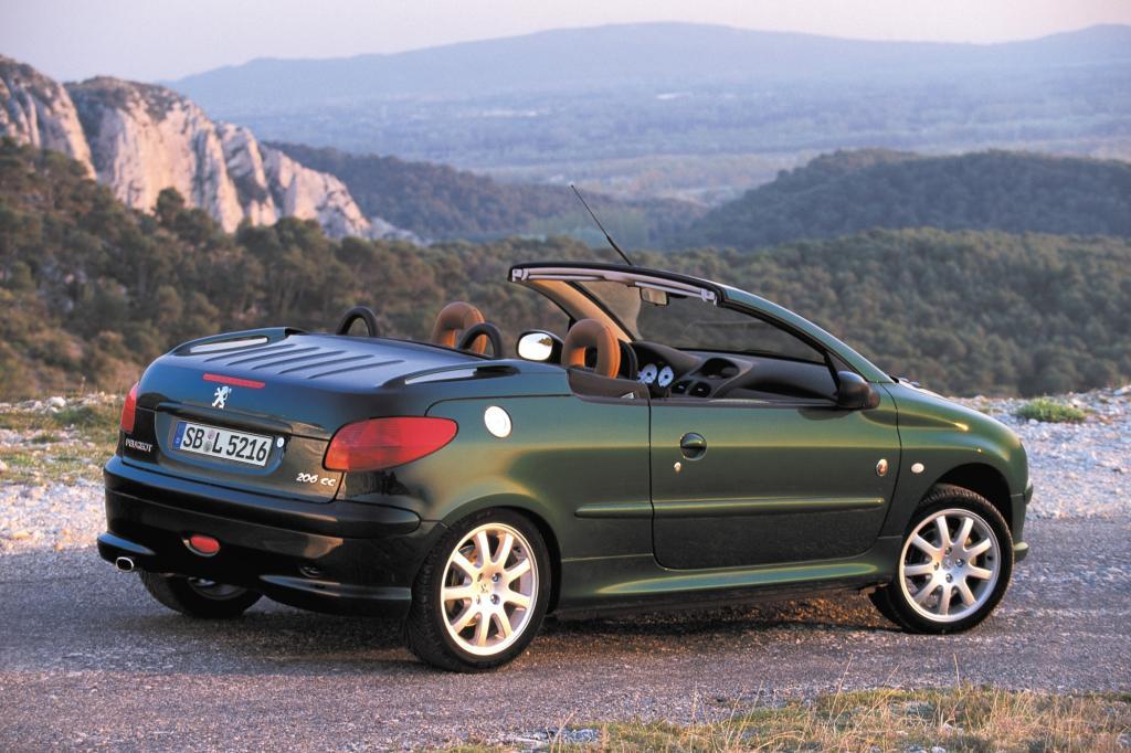 Peugeot 206 CC ab 2000