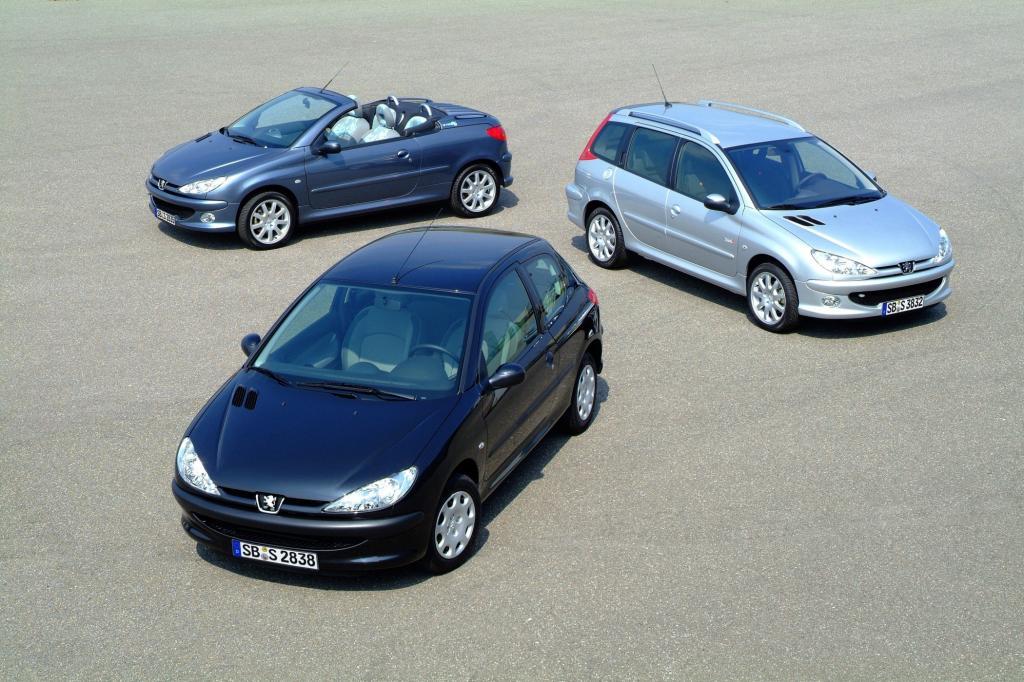 Peugeot 206 und 20 6CC und 206 SW ab 2003