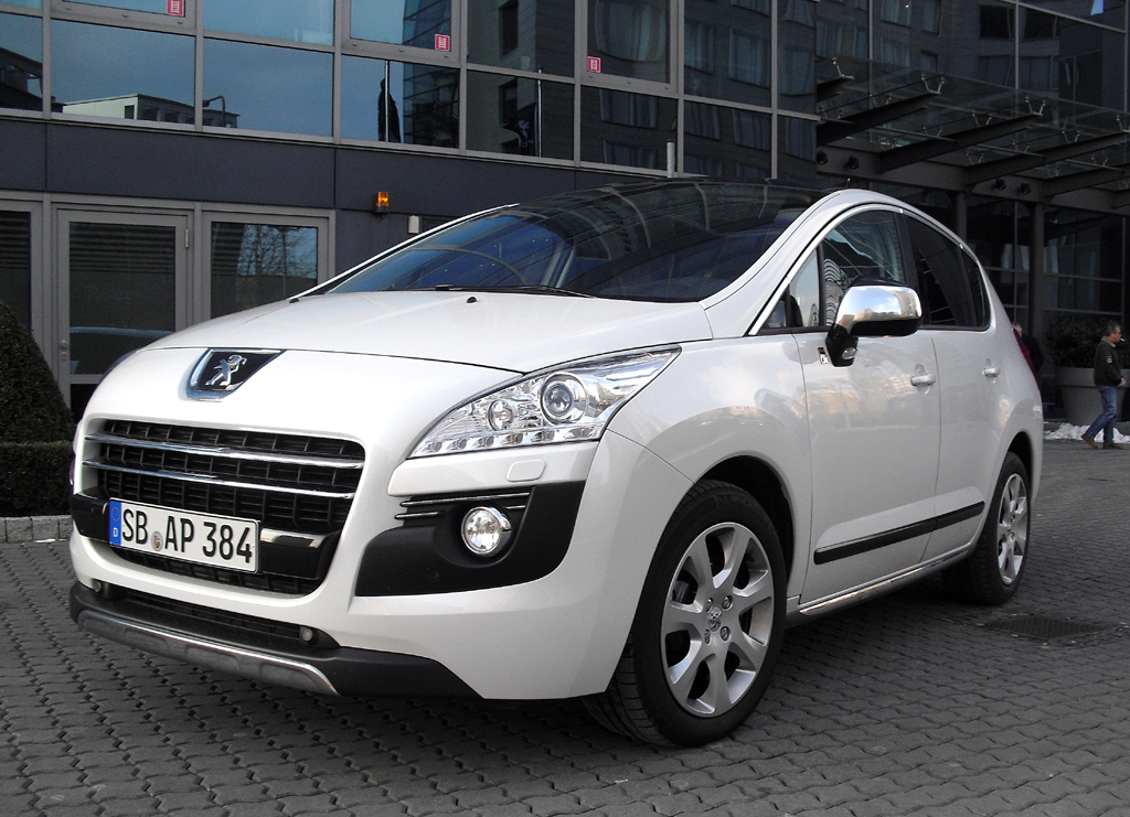Peugeots 3008 ist der erste Diesel-Vollhybrid. Fotos: Koch