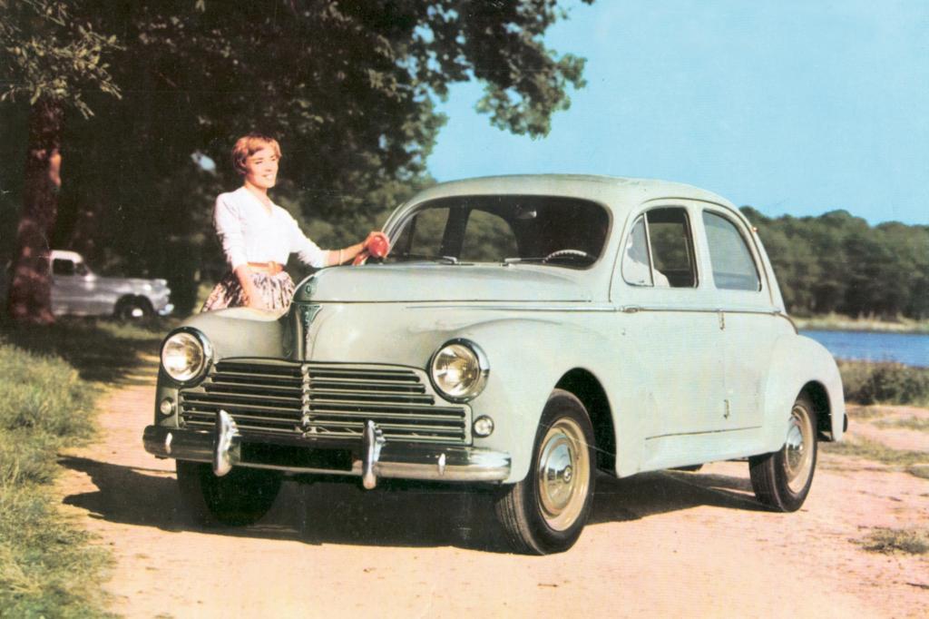 Peugeots Kleinwagengeschichte reicht lange zurück. Hier der 203 von 1948