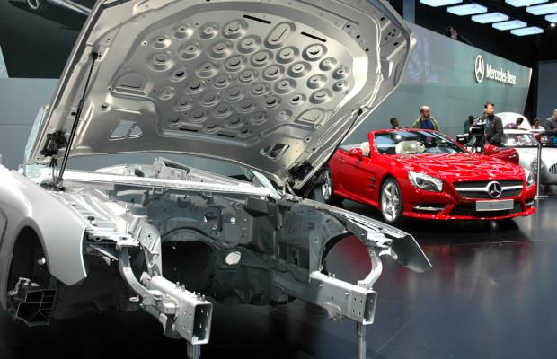 Pfunde runter, Liter sparen: Mercedes setzt auf athletischen S(port)L(eichtbau)
