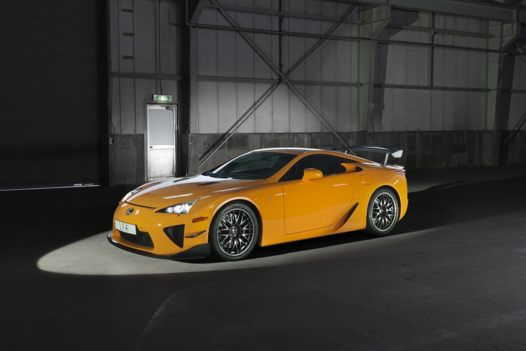 Platz 5: Lexus LFA Nürburgring Performance Package von 2011.