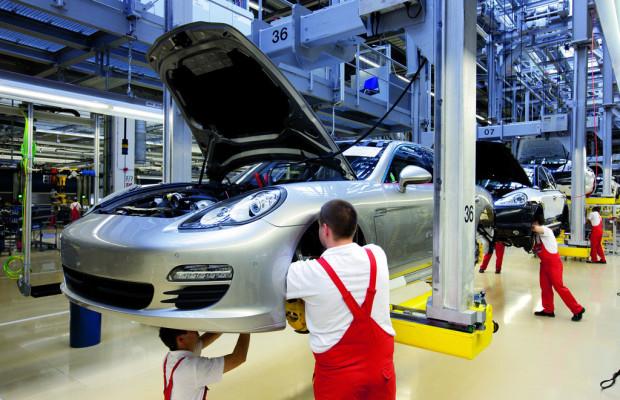 Porsche steigert Produktion in Leipzig um 47 Prozent