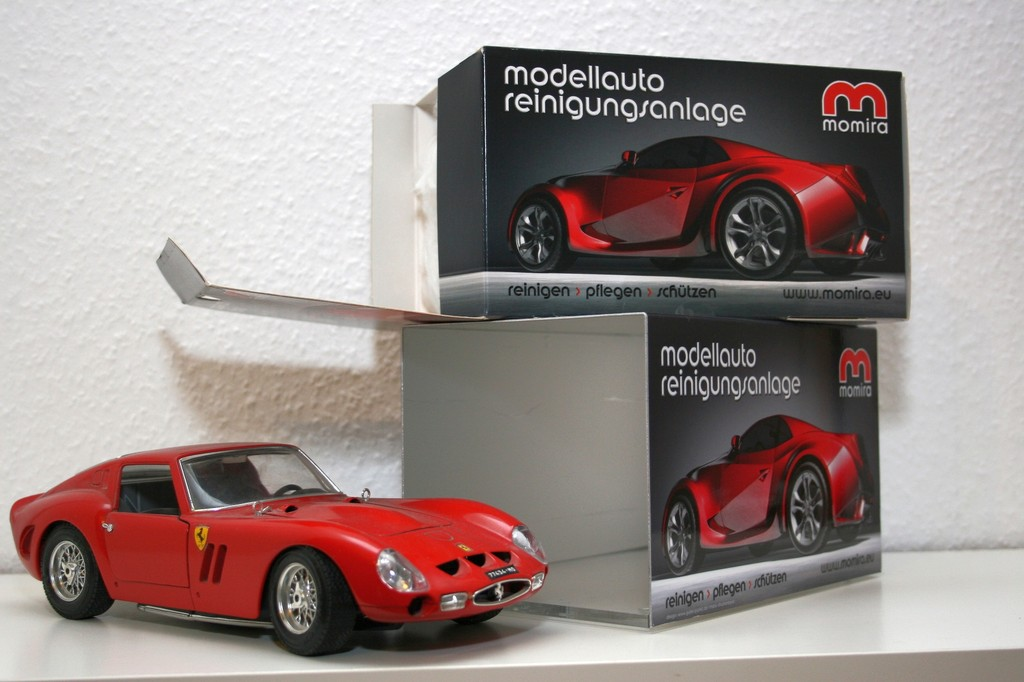Produktvorstellung: Mit dem Modellauto durch die Reinigungsanlage