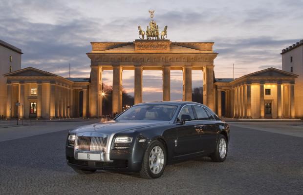 Rolls-Royce eröffnet Showroom in Berlin