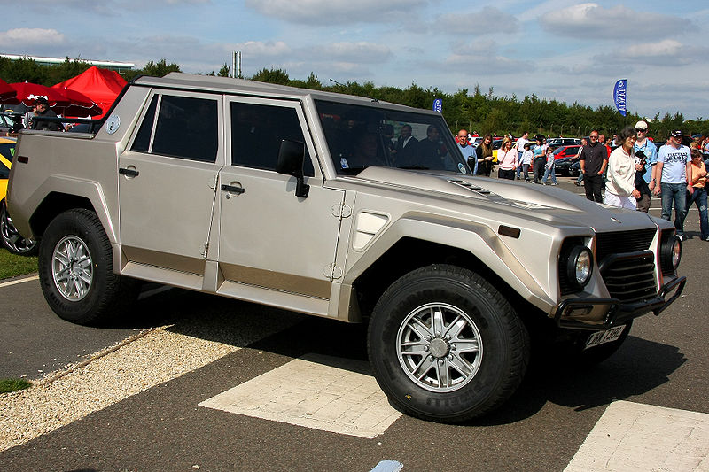 Seltener Zeitgenosse: nur 301 Mal wurde der Lamborghini LM002 verkauft. Einer davon war im Besitz von Kim Schmitz.