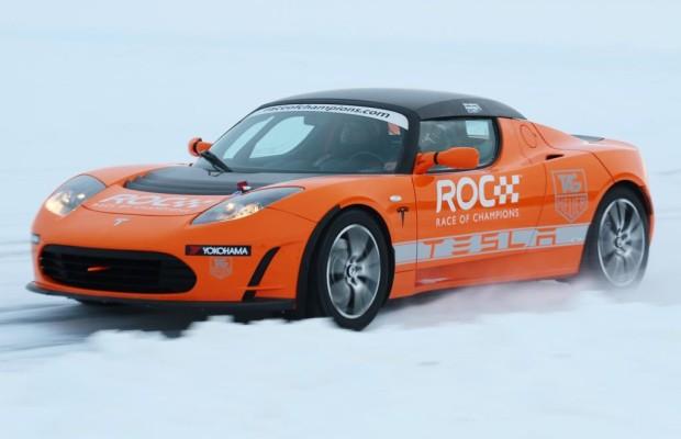 Tesla on ice - Manchmal hilft die Kälte