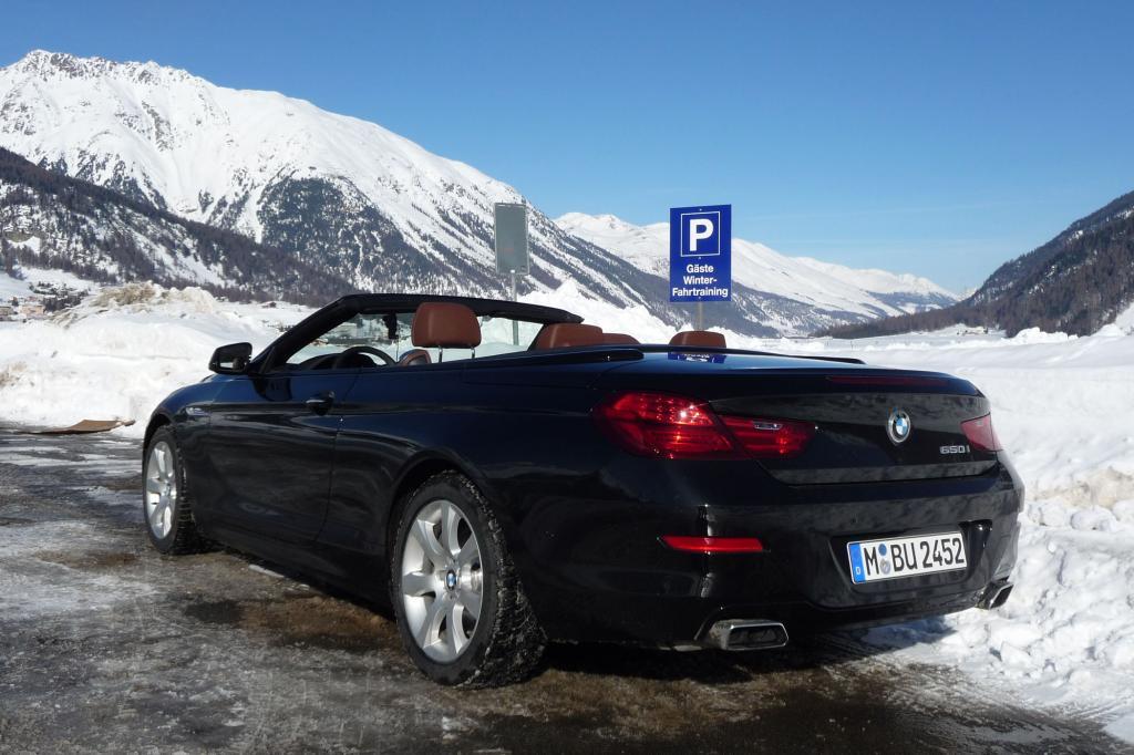 Unsere Wahl fiel auf den offenen BMW 650i xDrive