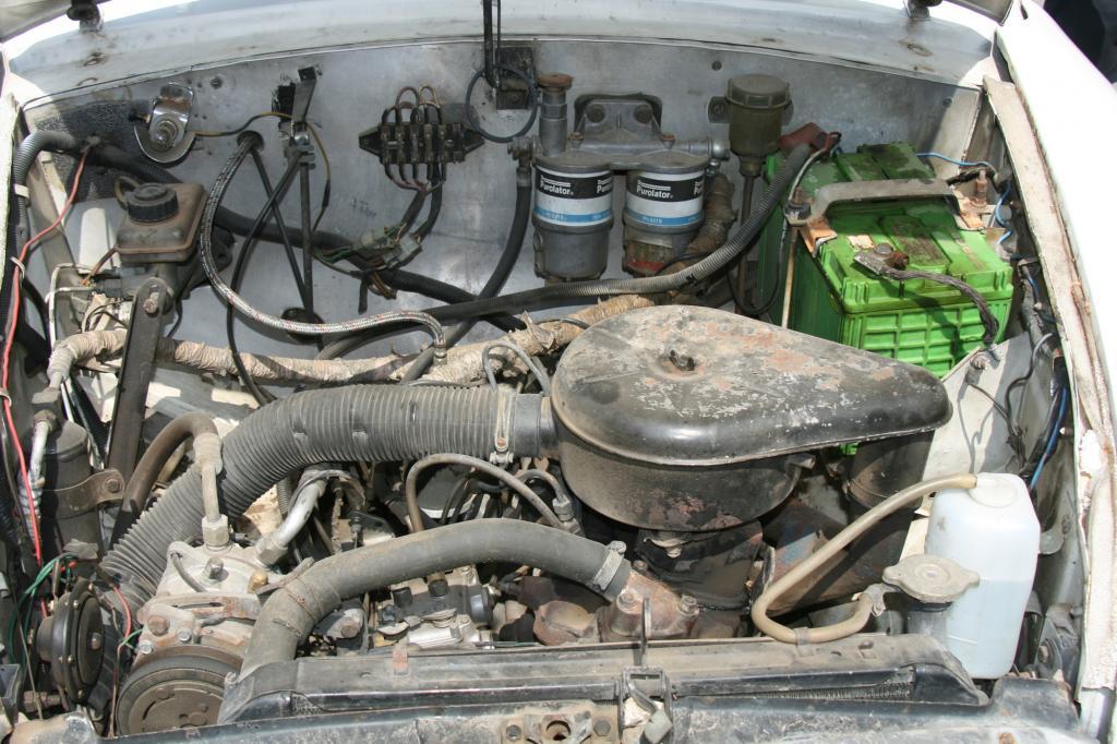 Unter der Haube steckt ein betagter 1,8-Liter-Motor
