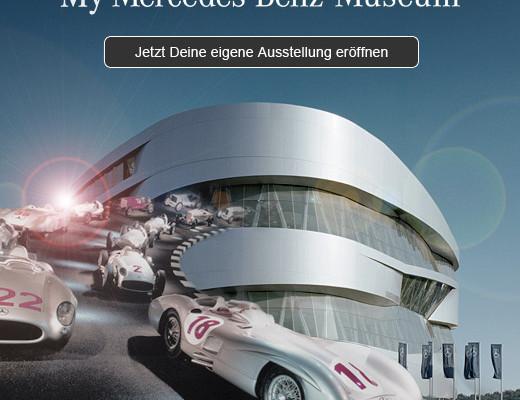 Virtuelles Mercedes-Benz-Museum auf Facebook