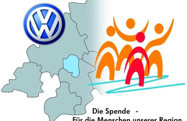 Volkswagen-Mitarbeiter spenden für mobilen Hühnerstall