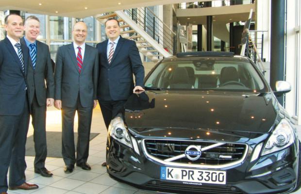Volvo Deutschland und HDI Partner bei Kfz-Versicherung