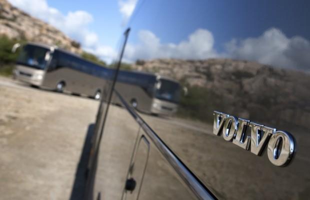 Volvo setzte so viele Busse wie nie ab