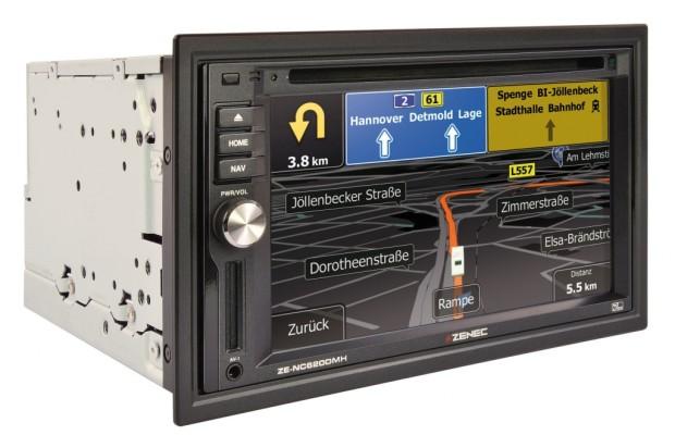 Zenec Navigations- und Multimediasystem für Reisemobile und Caravans