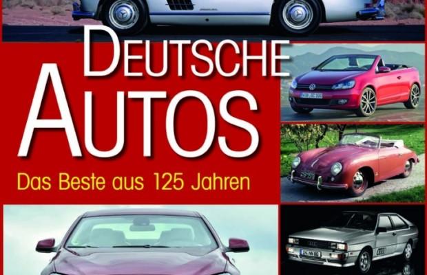 auto.de-Buchtipp: Deutsche Autos - Das Beste aus 125 Jahren