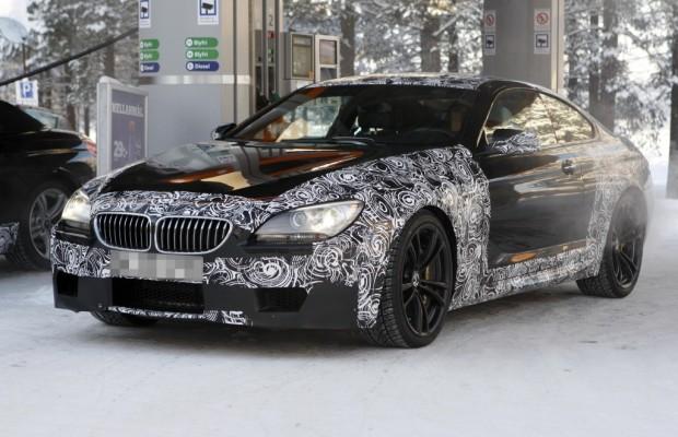 +++UPDATE+++ Erwischt: Erlkönig BMW M6 Coupé – Auch ein M6 muss mal tanken