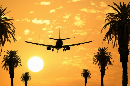 4,2 Millionen mehr Flugpassagiere reisten 2011 ins Ausland