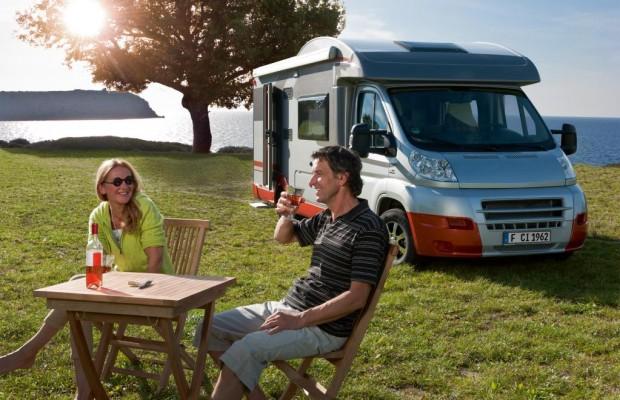 Absatzplus bei Caravans und Reisemobilen