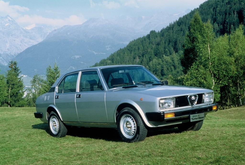 Alfa Romeo Alfetta 2.0 Turbodiesel (1978-1981).