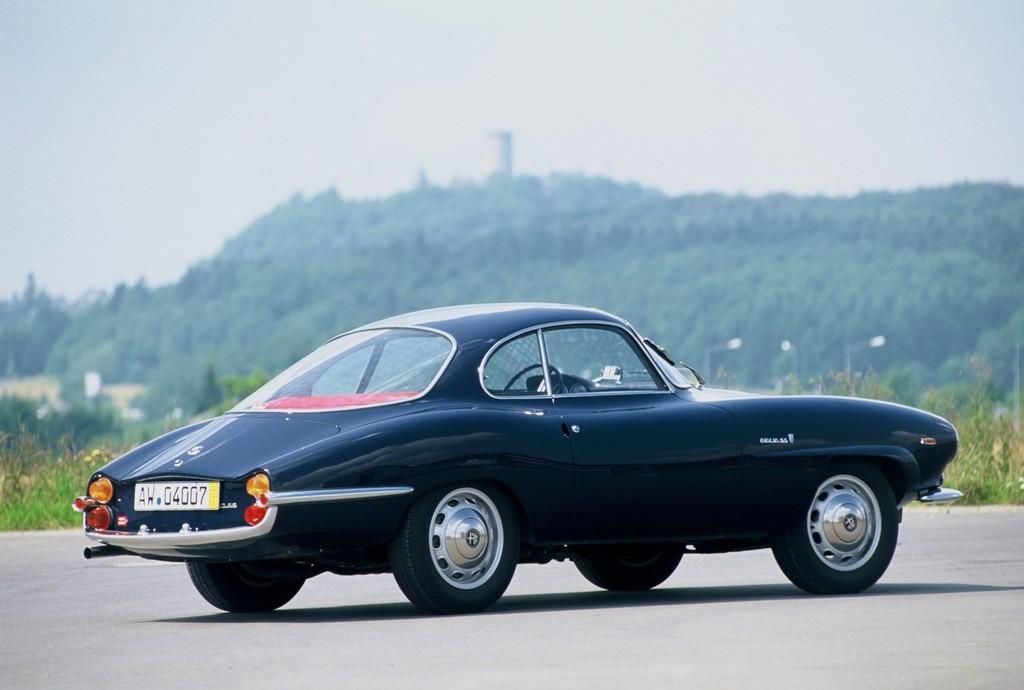 Alfa Romeo Sprint Speciale (1963-1965).