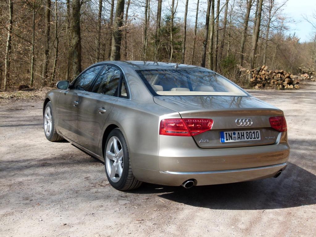 Audi A8 Hybrid: Sauberes Geschäft in der Business-Klasse
