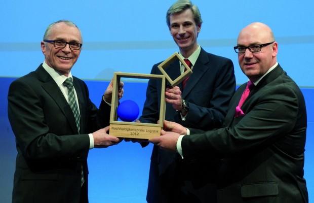 Audi erhält Nachhaltigkeitspreis Logistik 2012