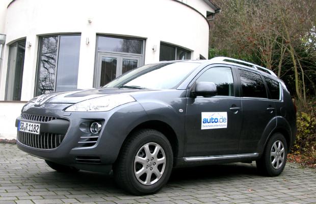 Auto im Alltag: Peugeot 4007