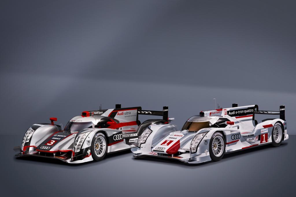Beide neuen R18-Varianten verfügen über einen 375 kW/510 PS starken 3,7-Liter-V6-TDI