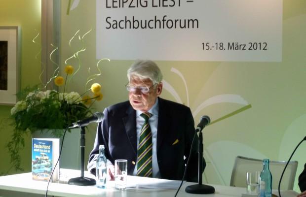 """Buchmesse Leipzig: """"Deutschland schafft das Auto ab"""" – Dr. Wegener im auto.de-Gespräch"""