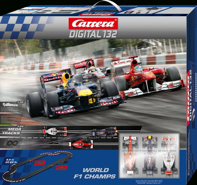 Carrera bietet achtmal Formel 1