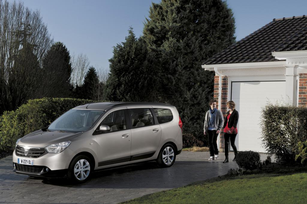 Dacia Lodgy - Groß und günstig