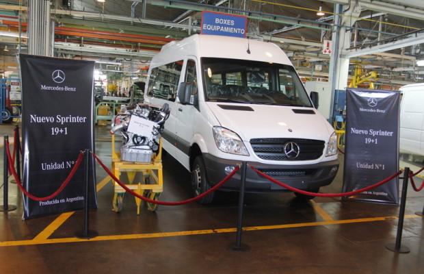 Daimler startet Produktion des Sprinter in Argentinien