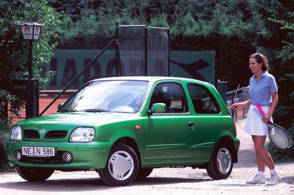 Der Nissan Micra wurde als erstes japanisches Model Auto des Jahres