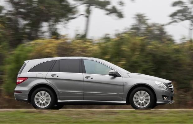 Der große Mercedes mit der Mischung aus Van, Reiselimousine und SUV hat seine Vorzüge.