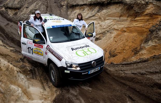 Deutsches Frauenteam fährt für den guten Zweck