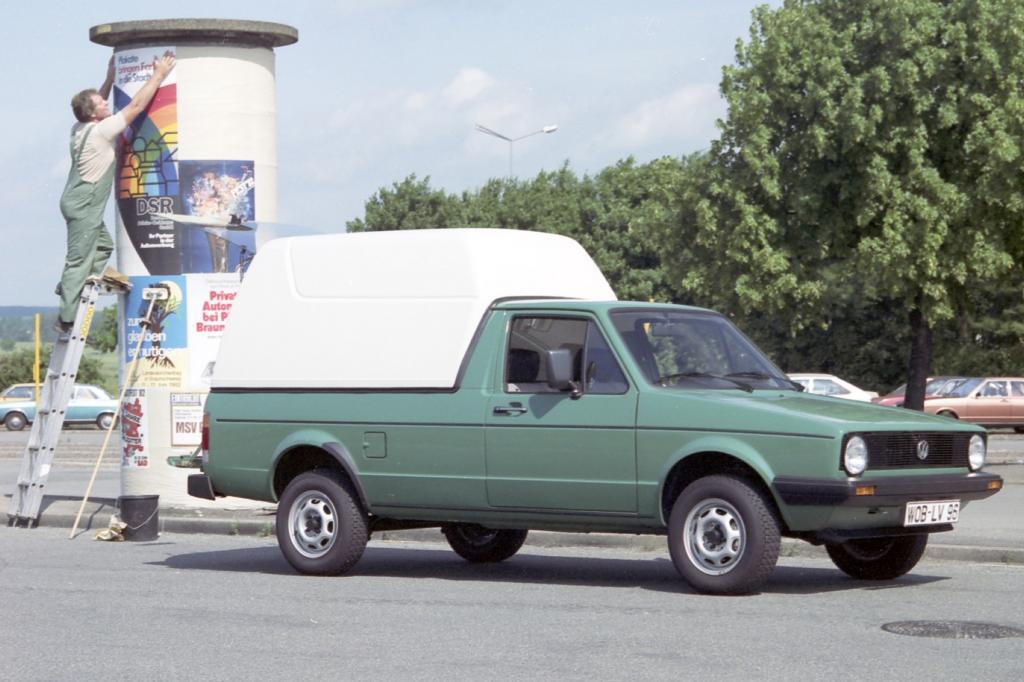 Die ersten Caddys kamen 1982 auf den Markt