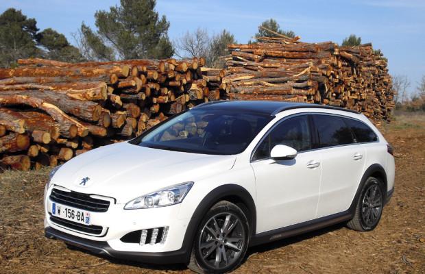 Doppelte Löwenkraft: Peugeot legt mit 508 RXH bei Dieselhybriden nach