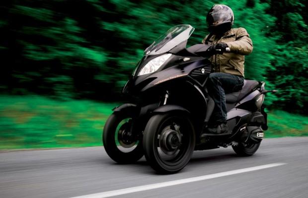Dreirad-Roller Quadro ohne Motorradführerschein