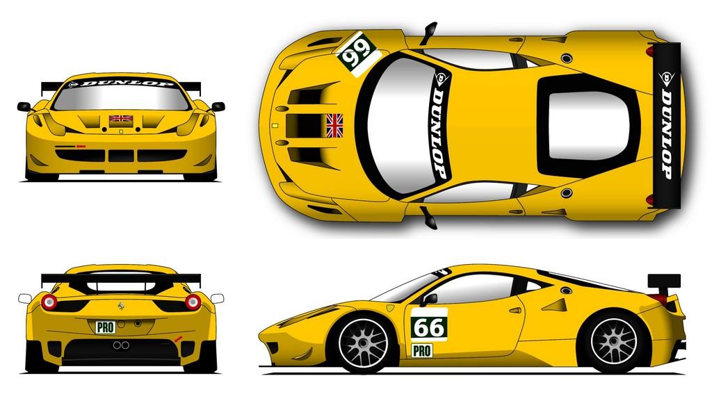 Dunlop sucht Rennwagen-Design für Le Mans