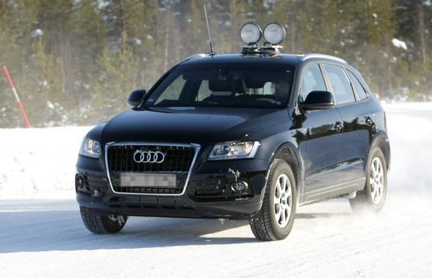 Erwischt: Erlkönig Audi Q5 – dezente Retuschen