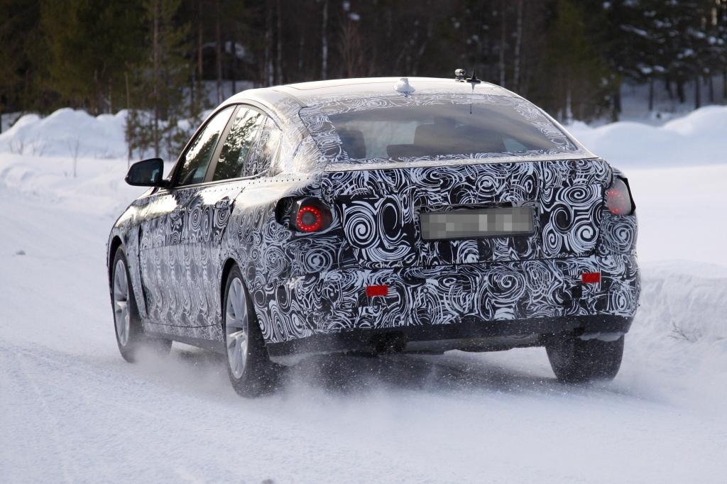 Erwischt: Erlkönig BMW 3er GT -- Im Schnee